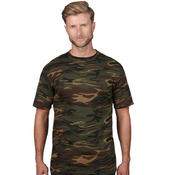 ANVIL Adult Camouflage Tee