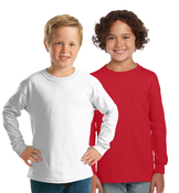 GILDAN Unisex Kids Long Sleeve Tee