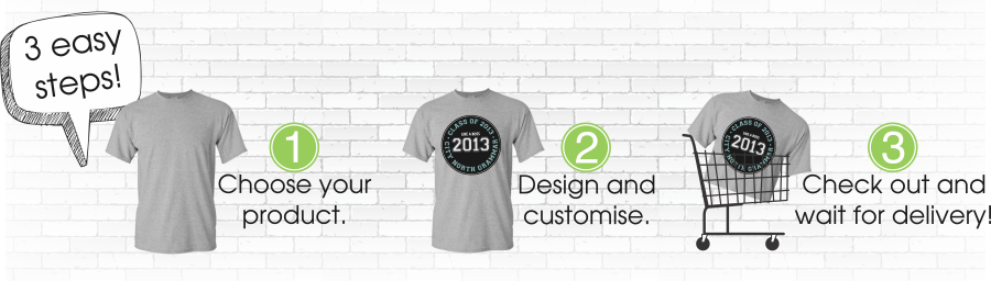 3 east steps to design your own custom t-shirt