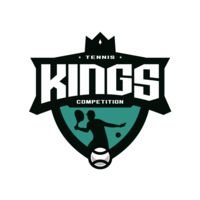 Kings Tennis Competition logo template Thumbnail
