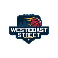 Westcoast Street Basketball logo template Thumbnail