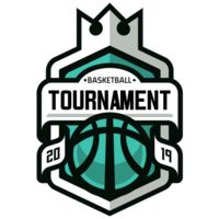 Tournament Basketball logo template 03 Thumbnail