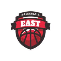 East Basketball logo template Thumbnail