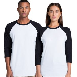 AS COLOUR Adult Raglan Tee Thumbnail