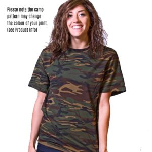 ANVIL Adult Camouflage Tee Thumbnail