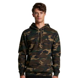 AS COLOUR Camo Stencil Hoodie  Thumbnail