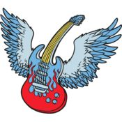 Winged guitar Thumbnail