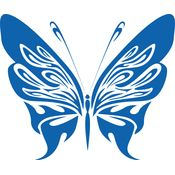 Butterfly Blue 01 Thumbnail