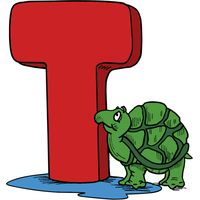 T is for Turtle Thumbnail