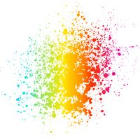 Colour Paint Splatter Thumbnail