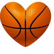 Basketball Heart Thumbnail
