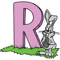 R is for Rabbit Thumbnail