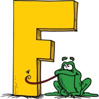 F is for Frog Thumbnail