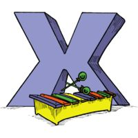 X is for Xylohphone Thumbnail