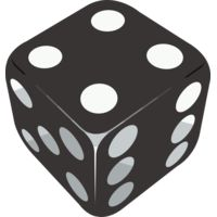 SINGLE BLACK DICE Thumbnail