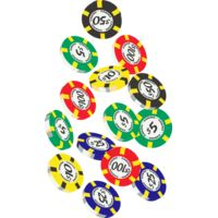 Colour casino chips Thumbnail