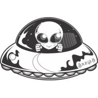 Alien Spaceship Thumbnail