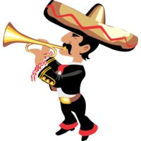Mexican trumpeter Thumbnail