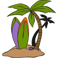 Surf Palm Tree Thumbnail