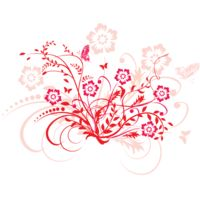 png swirl flowers design 1 Thumbnail