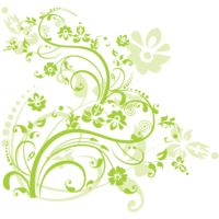 png swirl flowers design 8 Thumbnail