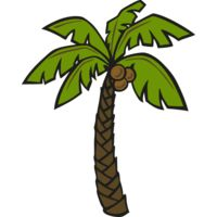 Palm Coconut Tree Thumbnail