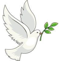 Peace dove olive branch Thumbnail