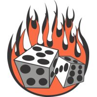 Flaming dice Thumbnail