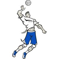Volleyball Guy Thumbnail