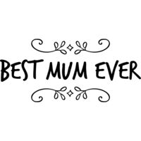 Best Mum Ever black 01 Thumbnail