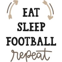 Eat Sleep Football Thumbnail