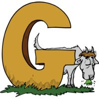 G is for Goat Thumbnail
