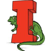 I is for Iguana Thumbnail